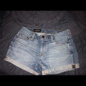 J Crew Indigo denim shorts